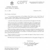 Giustiziata Kelly Gissendaner: la lettera del Papa