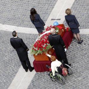 """Ingrao, l'ultimo saluto: """"Una vita per la liberazione dell'uomo"""""""