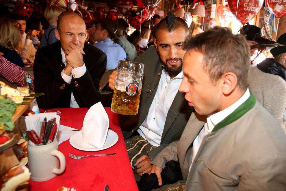 Tra Champions e birra, la perfetta Oktoberfest del Bayern Monaco