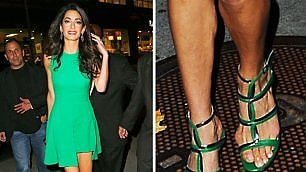 Tacchi alti e scarpe a punta come rovinare i piedi 'famosi'