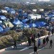 100 profughi forzano  tunnel della Manica   foto    Traffico sospeso per 9 ore