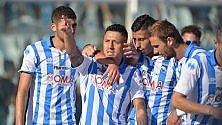 Il Cagliari cade a Pescara Cesena ok, tre in vetta