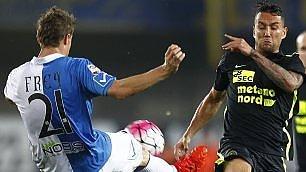 Derby senza vincitori    foto      Chievo-Verona finisce 1-1