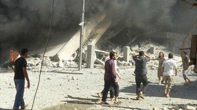 """Nuovi bombardamenti russi in Siria   video   Assad: """"Coalizione con Russia, Iran, Iraq"""""""