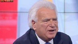 """Verdini canta Modugno in tv """"La lontananza"""" in Parlamento    Vd  Quando duettava con Fiorello"""