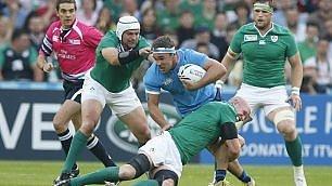 Azzurri sfiorano impresa ma ai quarti va l'Irlanda