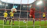 Bayern super, travolto il Dortmund  Finisce pari il derby tra  Atletico e Real