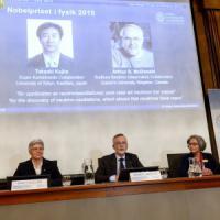 Nobel per la Fisica 2015 a Takaaki Kajita e Arthur McDonald: hanno scoperto la massa dei neutrini