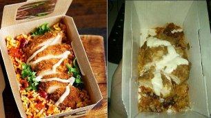 Fast food, foto vs realtà il cibo spazzatura è servito