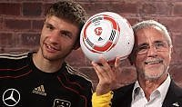 """Gerd Muller malato di Alzheimer Il Bayern: """"Siamo al suo fianco"""""""