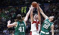 Celtics troppo forti   video   Milano si arrende subito