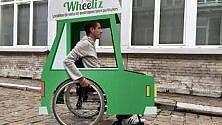 Ecco Wheeliz, la 'Uber' per persone disabili