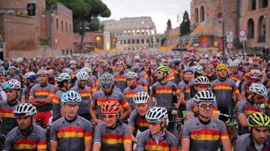 Granfondo Roma, la vera festa della bici