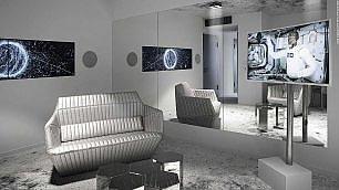 Buon soggiorno tra le stelle In Svizzera l'hotel è spaziale