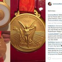 Grandi pulizie in casa Serena Williams: ritrovata medaglia d'oro del 2008