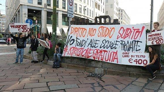 Contro la Buona scuola, 90 cortei in tutta Italia