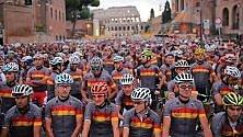 Granfondo Roma La vera festa della bici