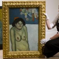 Due opere in un dipinto: all'asta  ''La Gommeuse'' di Picasso