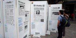 """""""Prima pagina"""" e """"Galassia Repubblica"""", in mostra le pagine che hanno fatto storia"""