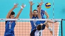Bene l'Italia all'esordio: 3-0 all'Estonia