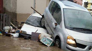 Maltempo, danni in Sicilia   foto       -       video   corsi d'acqua esondati e trombe d'aria