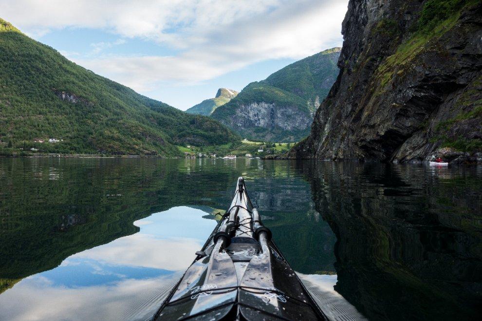 Il punto di vista del kayaker sulla natura: la Norvegia mozzafiato di Tomasz