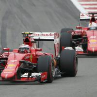 F1: Raikkonen, che duelli al Gp di Russia