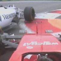 F1, Gp Russia: Raikkonen colpisce Bottas, la foto che inchioda il ferrarista