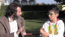 """Mattia, 13 anni candidato premier: """"Noi ragazzi vogliamo dire la nostra"""""""
