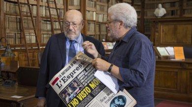 """Espresso, un film per i 60 anni """"Dedicato al piacere di leggere"""""""