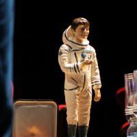 Cristoforetti e Shkaplerov, due astronauti sul presepe napoletano
