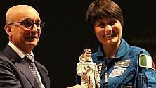 Astronauti nel presepe napoletano: Cristoforetti e il russo Shkaplerov