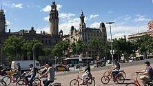 A tutta Barcellona    foto    anche in bicicletta