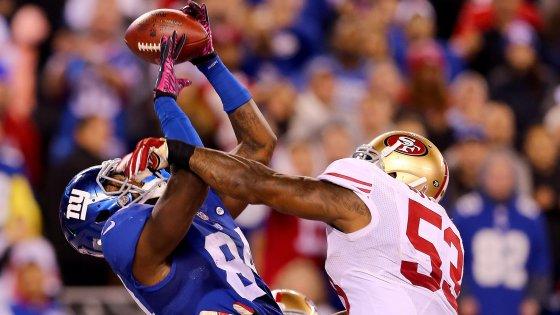 Nfl, Giants all'ultimo respiro. Continua la imbattibilità di Broncos, Packers, Patriots, Bengals e Falcons