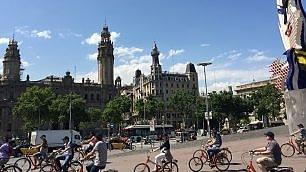 Barcellona. Anche in bici   foto