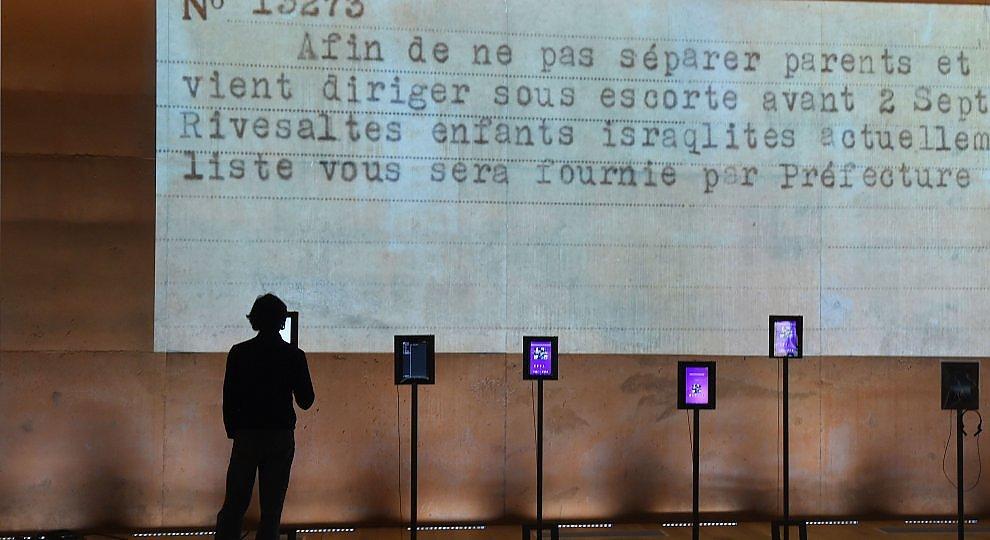 Francia, un museo nel primo campo profughi.   foto