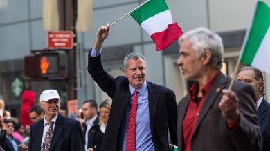New York, la sfilata dell'orgoglio italiano De Blasio e Cuomo al Columbus Day  foto