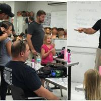 Insegna agli altri papà a pettinare le figlie: boom per le lezioni di Philippe