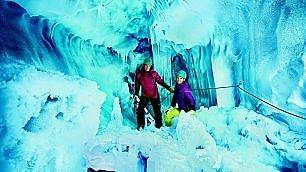 Tirolo. Sciate su ghiaccio.   foto