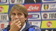 """Conte: """"Io ct anche ai Mondiali? Mai dire mai..."""" Stasera Italia-Norvegia"""