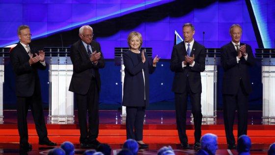 Confronto tra i candidati democratici: Sanders vince per il fair play, ma la Clinton batte tutti