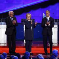 Al via il confronto tra i cinque candidati democratici alle presidenziali Usa 2016