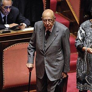 """Napolitano su Berlusconi: """"Patologiche ossessioni"""""""
