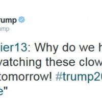 Usa, dibattito democratico: i tweet di Donald Trump