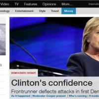 Clinton vs Sanders, il dibattito democratico sui siti Usa
