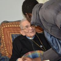 Capovilla, il segretario di Giovanni XXIII compie 100 anni e festeggia con i profughi