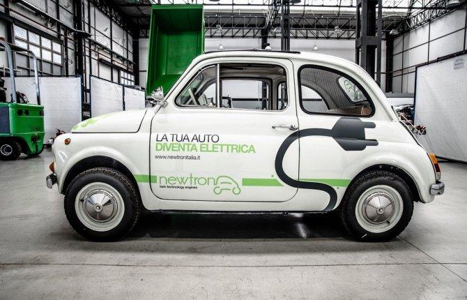 Fiat 500 Elettrica Da Auto D Epoca A Macchina Super Ecologica