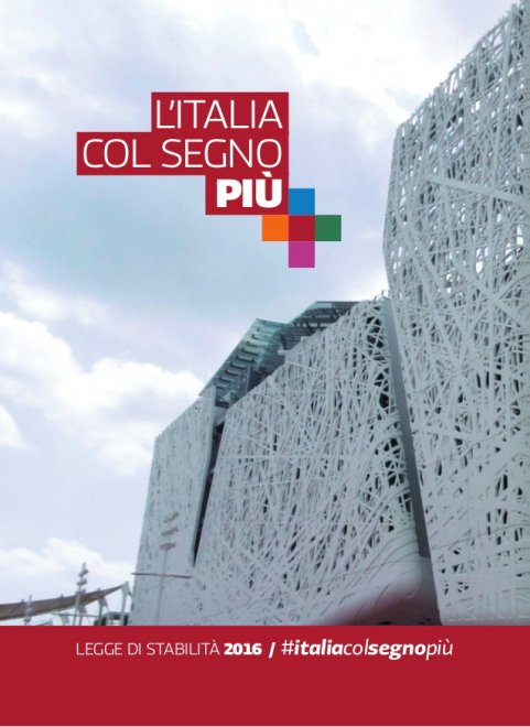 Legge di stabilità 2016, le slide di Palazzo Chigi