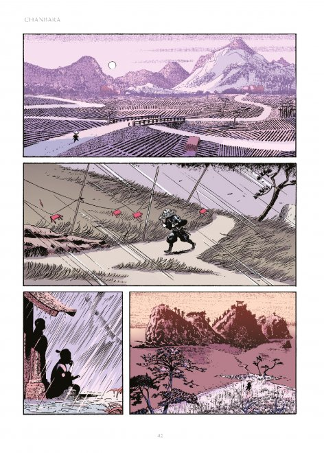 """""""Chanbara"""", viaggio a fumetti nel Giappone dei samurai"""