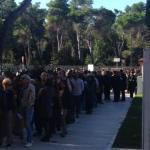 RepIdee saluta Pescara, in coda per l'incontro con Mauro e De Benedetti